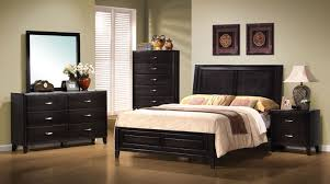 Bassett Bedroom Furniture Coaster Nacey Panel Bedroom Set In Black 201961