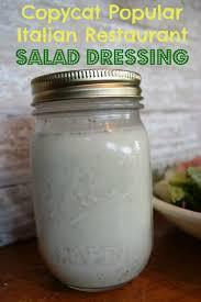 copycat popular italian restaurant salad dressing bargainbriana