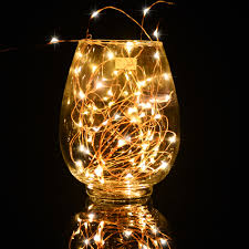 Starry String Lights Amber Lights On Copper Wire by Ledgle 10w Dimmable Led String Lights Copper Wire 66ft Led Starry