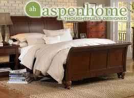 aspen home bedroom furniture aspen home cambridge sleigh bed brown with aspen home bedroom