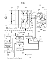 patent us8212504 conduction angle control of brushless motor