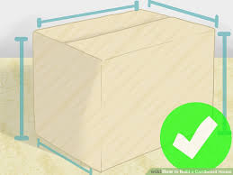 how to build a cardboard house with pictures wikihow