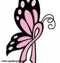 breast cancer butterfly image free image designs