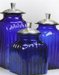 purple canisters for the kitchen mexican kitchen canisters talavera blown glass canisters