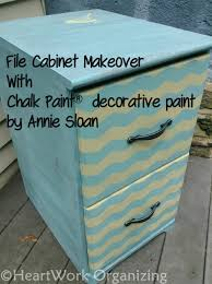How To Paint A Filing Cabinet Fun Chevron File Cabinet With Annie Sloan Chalk Paint