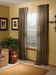 stationary side panels and drapery gordon u0027s window decor