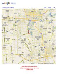 Google Maps Ohio Athletic Manchester Local District