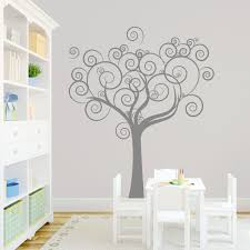 tree wall decal bedroom wall decals wall sticker vinyl art wall whimsical love tree wall decal