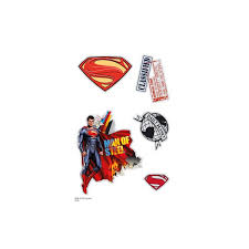 pack 9 tatouages superman man of steel www tattoo kids com