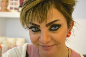 iraqi women are getting tattooed u0027scouse brows u0027 to deal with the