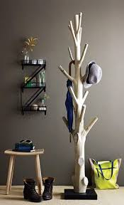 contemporary wooden standing coat rack attractive and functional