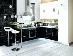 cuisine noir et blanc cuisine gris laquac noir et blanc avec grise newsindo co