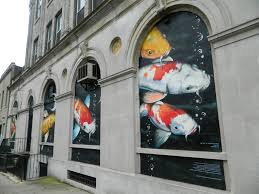koi fish mural on jersey city heights pharmacy s wall to be koi fish mural on jersey city heights pharmacy s wall to be unveiled wednesday nj com