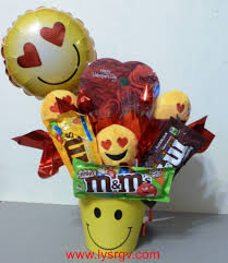 candy bouquets emoji candy bouquets lift your spirits