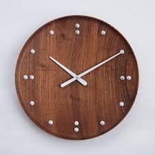 Mid Century Modern Desk Clock by Finn Juhl Modern 13 8