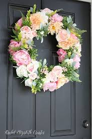 flower wreath 23 diy wreaths how to make a wreath yourself