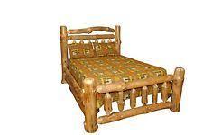 rustic primitive pine beds u0026 bed frames ebay