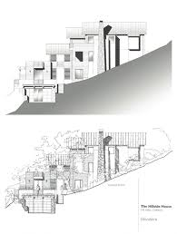 house plans for sloping lots in the rear baby nursery hill side house plans steep slope home designs very