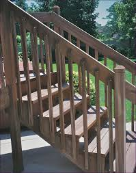 outdoor magnificent deck stair railing design building stairs