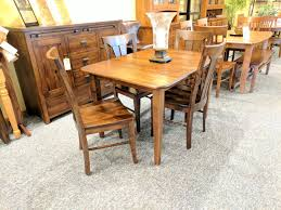 Maple Table And Chairs Door County Maple Leg Table And Chairs Reed Furniture