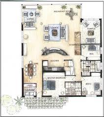 Rendered Floor Plans by Hand Rendered Floor Plan An Example Of A Floor Plan Rendered In