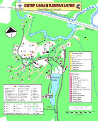 Logan Ohio Map by Bsa Troop 103 Miamisburg Ohio Summer Camp Chief Logan Reservation
