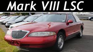 is the 1998 lincoln mark viii lsc the ultimate luxury coupe youtube