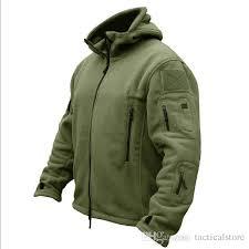 fleece tactical jacket polartec thermal breathable hiking