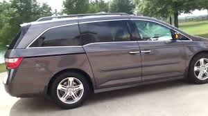 used honda odyssey vans for sale hd 2012 honda odyssey touring elite mini for sale see