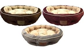 33 off on akc thermal memory foam pet bed groupon goods
