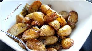 comment cuisiner les pommes de terre grenaille pommes de terre grenailles confites si facile et si bonnes