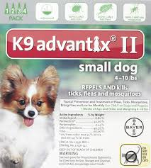 amazon com k9 advantix ii small dog 4 pack pet supplies