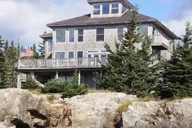 luxury estate on bold maine coast feet from the open ocean