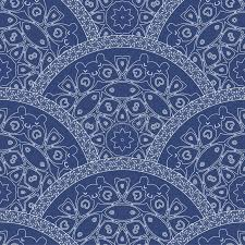 abstract seamless wavy pattern from decorative ethnic ornaments