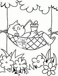 summer coloring pages for kids big collection of summer