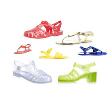 holiday fashion jelly sandals