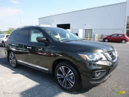 nissan pathfinder gun metallic 2017 midnight jade nissan pathfinder sv 4x4 115805124 photo 11