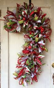 christmas mesh wreaths christmas deco mesh wreath ideas athomeintn