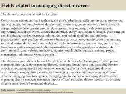 top 5 managing director cover letter samples