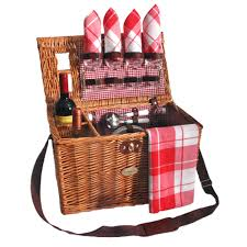 picnic basket for 4 sutherland bistro picnic basket for 4 sutherland picnic baskets