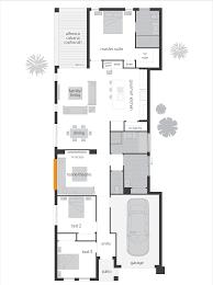 block home plans narrow block house plans melbourne spanish colonial revival house