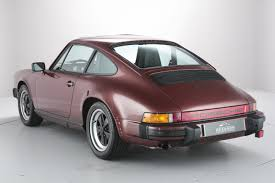 porsche whale tail timewarp 1985 porsche 911 on sale the world u0027s premier porsche