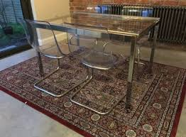 ikea glivarp extendable table ikea glivarp glass extendable table and chairs for sale in dun