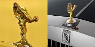 the story the rolls royce ornament