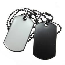 dog tag pendant necklace images Men army style white and black 2 dog tag pendant necklace alex nld jpg
