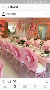1160 best bridal shower ideas images on pinterest marriage i love the big flowers on the wall i feel the flowers on the chair were too much maybe a nice pearl chain instead