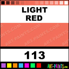 light red artist acrylic paints 113 light red paint light red
