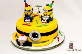 minions birthday cake birthday cakes boys sweet noni