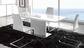 modern white dining room table best modern dining room sets colour story design