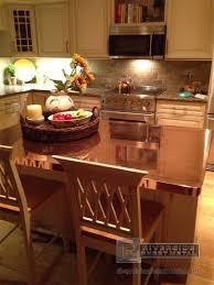 copper counter tops table kitchen island bars boston ma trends